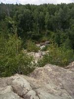 Карагайский бор и ущелье на реке Губерле