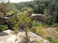 Скала «Черепаха» Карагайский бор и ущелье на реке Губерле