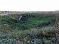 Карстовая воронка близ деревни Райманово