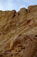 Обрыв Семицветка. Ноябрь 2012 года