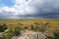 Карабутакский гранитный массив (скалы «Шонкал»). Июль 2015 года