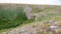 Карстовое поле и мраморный лог у Юбилейного. Июнь 2021 года