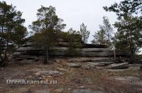 Байтукские каменные палатки. Ноябрь 2012 года