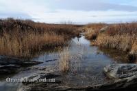 Мраморный плес реки Каменки (озеро Холодное)