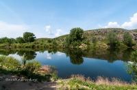 Иссергужинские утесы на реке Кумак