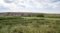 Кызкольский мраморный утес на реке Кумыстюбе. Июнь 2021 года