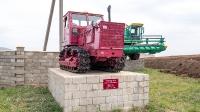 Исторический музей сельскохозяйственной техники. Посёлок Васильевка