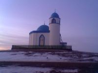 Мечеть в селе Кусем. Январь 2006 года