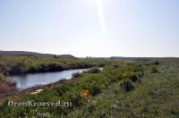 Река Камсак (Камсакты)