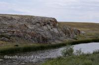 Река Джуса (Жуса). Июль 2012 года