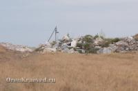 Айдырлинское месторождение мрамора. Июль 2012 года