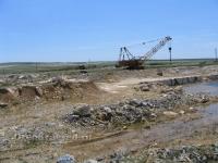 Карьер ОАО «Оренбургэнерго» — южная часть Айдырлинского месторождения мрамора
