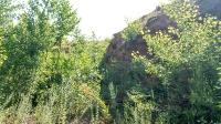 Место, где были водопады на реке Янгиз. Июль 2019 года