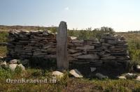Старое кладбище близ гранитных скал «Шонкал»