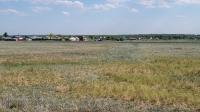 Село Красногор. Следы крепостного вала и рва