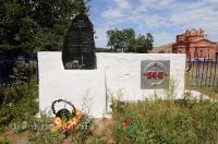Памятник воину-победителю в честь 40-летия Победы в Великой Отечественной войне в 1941–1945 гг. с. Казачья Губерля