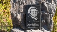 Памятник основателю села Петровского