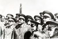 Памятник космонавту, дважды Герою Советского Союза В.М. Комарову, на месте гибели в 1967 г.